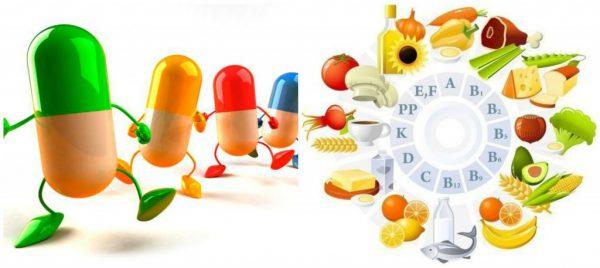 Витамины красные капсулы